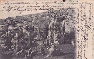 SPAIN - Malaga - Antequera - El Torcal 1904