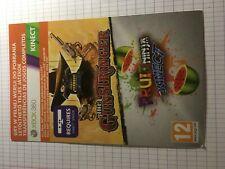 Xbox 360 The Gunstringer + Fruit Ninja Kinect Digital Code Only