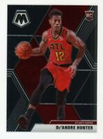 2019-20 Panini Mosaic DE'ANDRE HUNTER Rare ROOKIE CARD RC #239 Atlanta Hawks