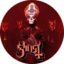 CHAPA/BADGE GHOST . pin button heavy metal doom black sabbath hard pentagram