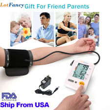FDA Auto Digital Arm Blood Pressure Monitor Monitoring Cuff Adapter By LotFancy