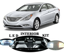 LED Package - Interior + License + Vanity + Reverse for Hyundai Sonata (12 Pcs)