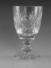 TUDOR Crystal - KNYGHTON Cut - Small Wine Glass / Glasses - 4 1/8""