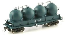 AUSCISION FISHBELLY UNDERFRAME WAGON PCT CEMENT HOPPER PTC BLUE 4 PACK NCH-38