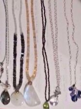 Kristin Ford Gemstone Sterling Gold Necklaces  Retail from $249 to $850 ❤️