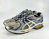 ASICS Gel Kinetic 3 Running Training Athletic Shoes Mens Size 11.5 T037N Silver