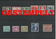 Alemania Berlín Año Yearset 1954 Sellado Used Completo Otros Sh Shop