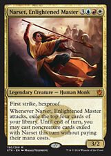 MTG NARSET, ENLIGHTENED MASTER - NARSET, MAESTRA ILLUMINATA - KTK - MAGIC