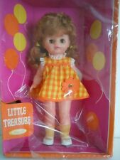 "RARE 1969 VINTAGE UNEEDA DOLL"" LITTLE TREASURE ""13 INCHES SLEEPY EYES NEW IN BOX"
