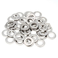 MagiDeal Stainless Steel Metric Flat Washers for Hardware Accessories 100pcs