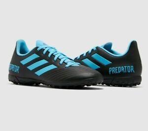 adidas Predator 19.4 TF Football Trainers Mens Boys astro turf Boots Size 5,6