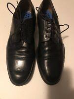 Johnston & Murphy Men's Harvey Cap Toe Oxfords 59 13501 Black Size 11 M