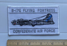 "B-17 B-17G Flying Fortress Confederate Air Force 4.5"" Long Embroidered Patch"