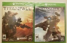 Titanfall 1 & 2: Deluxe Edition - Xbox One - SET PACK LOTS - BUNDLE - NEW SEALED