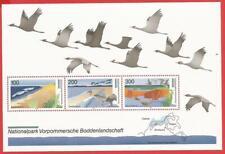 Vorpommersche Boddenlandschaft Naturschutz Bund Block 36 postfrisch