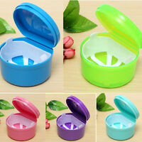 Health Dental Orthodontic Retainer Box Mouthguard Denture Storage Container SP