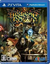 Used PS Vita Dragons Crown   SONY PLAYSTATION JAPANESE IMPORT