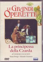 LE GRANDI OPERETTE La Principessa Della Czarda - DVD ORIGINALE NUOVO SIGILLATO