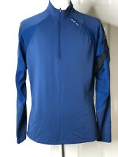 New Sugoi Men's XL Quarter- Zip Cycling/ Workout Top XL BLUE
