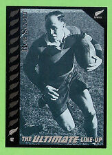1995 NEW ZEALAND  ALL BLACKS RUGBY UNION CARD  #42  BOB  SCOTT