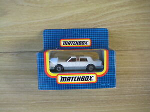 MATCHBOX SUPERFAST  MB24 LINCOLN LIMOUSINE Blue stripe ABSOLUTELY MINT