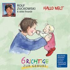 ROLF UND SEINE FREUNDE ZUCKOWSKI - HALLO WELT-6 RICHTIGE ZUR GEBURT  CD NEUF