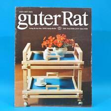 Guter Rat 3-1980 Verlag für die Frau DDR Florena Einwecken Zebrafink Babybett C