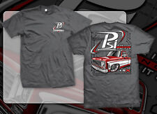 """PSI T-SHIRT """"WIRE IT UP AND FIRE IT UP"""" - CHEVY C10 PICKUP - CHARCOAL / X-LARGE"""