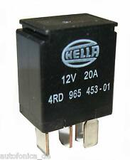 kfz MINI Micro Relais 12V 20A Wechsler von Hella 4RD 965 453-01 4RD965453-01