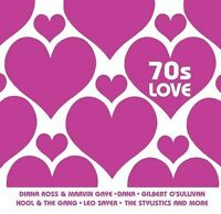70'S LOVE (Barry White, The Real Thing, Marvin Gaye, The Drifters) CD NEU