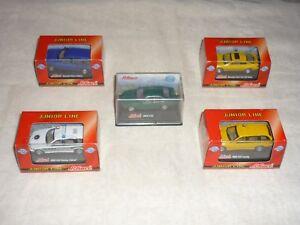 Lot of 5 SCHUCO JUNIOR Diecast 1:72 Scale Cars BMW 320 528 Mercedes 230 E Klass