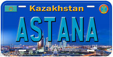 Astana Kazakhstan Aluminum Novelty Car License Plate P02