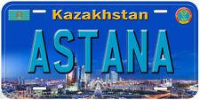 Astana Kazakhstan Aluminum Novelty Car License Plate P02