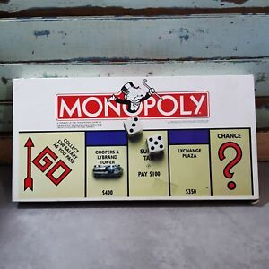 VINTAGE Rare Monopoly Growth Equities Mutual Ltd Board Game 1990