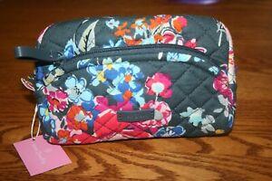 Vera Bradley Iconic Mini Cosmetic Bag case Pretty Posies travel floral small