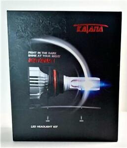 Katana  880 LED Headlight Kit Cree Chips 6500K Extremely Bright Conversion   NEW