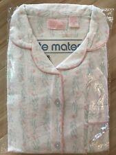New listing Vtg Nite Mates 100% Cotton Flannel Women Size 38 2 Piece Long Leg Pajamas New