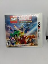 Lego Marvel Super Heroes Universe In Peril 3ds Replacement Case And Manual Only