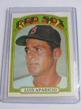 1972 Topps #313  Luis Aparicio  Red Sox BC#41 TN
