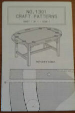 Butler'S Table Pattern Blueprint Plan ~ Craft Pattern 1301 ~ Build Your Own
