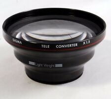 Sigma Tele Converter x1.5 lens For AF Video Camera Light Weight 44-45mm