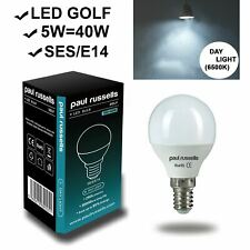 New LED Golf Candle GLS Energy Saving E14 E27 B22 Warm White, Day Light A+ Bulbs