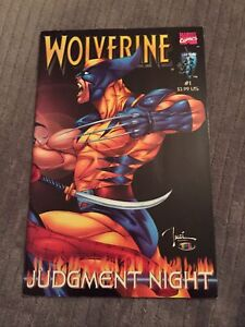 WOLVERINE Shi Judgment Night # 1 Hard To Find [Marvel/Crusade]