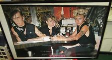 STRAY CATS POSTER LIVE NEW NEVER OPENED LATE 80'S VINTAGE  BRIAN SETZER