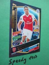 Topps Champions League 2016 17 limited Edition Sanchez GOLD limitiert 2017 LEMGG