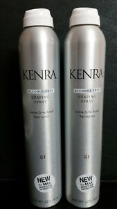 Kenra 21 Shaping Spray Extra Firm Hold Hairspray Alcohol Free 8oz 227g TWIN PACK