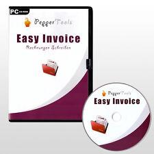 Rechnungsdruckerei mit Easy Invoice - in 2 Minuten zur ersten eigenen Rechnung