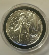 2 Oz Privateer Captain High Relief Silver Round 999 Fine pirate ship 3d coin new