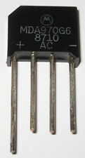 Motorola 4 Amp 600 Volt Low Profile Bridge Rectifier - 600V 4A Inline Compact