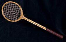 Antique Vintage 1960 Wood Slazenger DEMON Squash Racket